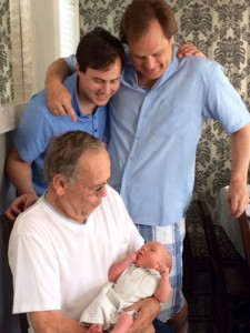 Four generations of the Prays