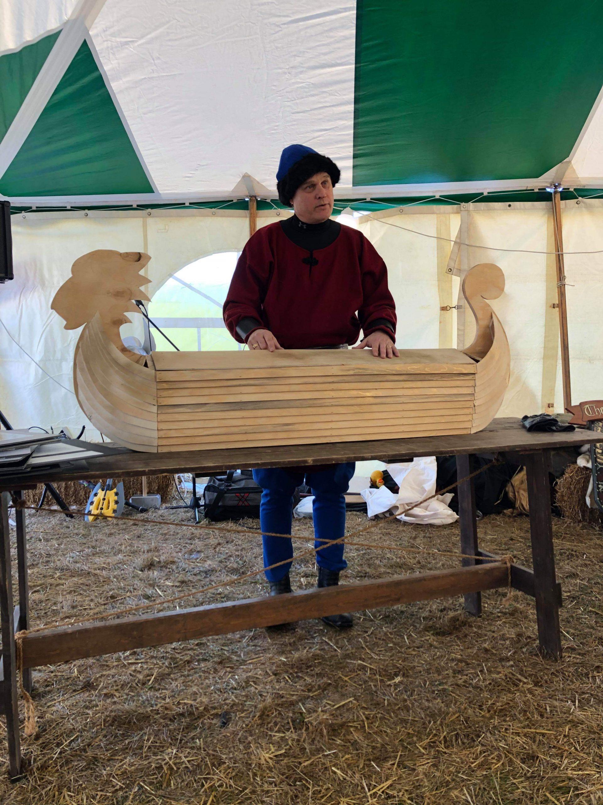 Unveiling the Viking Ship Casket